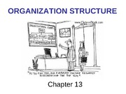 Organizational Structure - Chapter 13