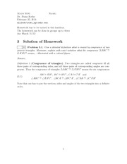Homework C Solutions on Fundamentals of Geometry