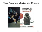 New Balance Markets in France