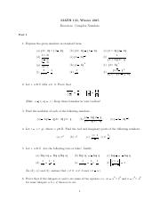 Exercises - Complex numbers.pdf