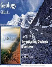 Chapter 2 - Investigating Geologic Questions(1)