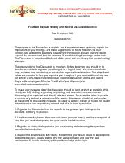 14 steps to writing an effective discussion section.pdf
