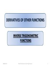 CH 2G Inverse Trigonometric Functions