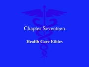 Biomedical Ethics 2007