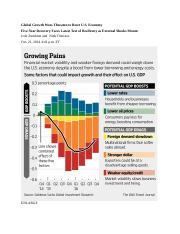 Global Growth Woes Threaten to Beset US 14-10-22.docx