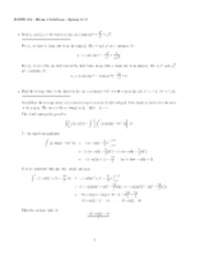 Exam2_S2009 Solutions