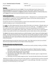 FB Analysis guidelines.doc