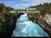 Lecture Water Ecology and Sustainability Lecture for Landscapes and Sustainability