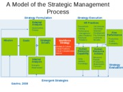 A Model of the Strategic Management Process