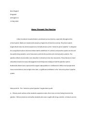 Dea Chappell Persuasive research speech outline