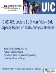 CME 405 Lecturer 11 Static Analysis of Driven Piles Side Friction 20161104 112pm(1).pptx