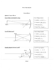lens diagram worksheet done lens ray diagram mb 2 convex lens has multiple cases case i. Black Bedroom Furniture Sets. Home Design Ideas