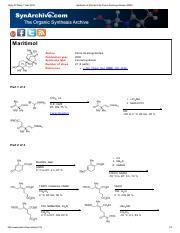 Synthesis of Maritimol by Pierre Deslongchamps (2000).pdf