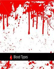Lesson 6 - Blood Typing.ppt