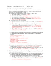 CME 260 Midterm Exam 2 2012 solutions