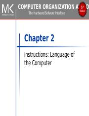 3 - Instructions-Language-of-the-Computer.ppt