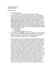 Sociology Lecture Notes - September 19, 2006