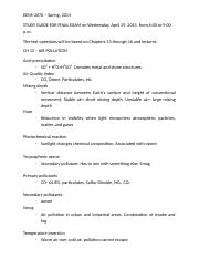 STUDY GUIDE FOR FINAL EXAM (WEATHER).docx