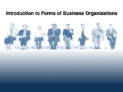 Forms of Business(2)