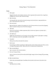 Biology Chapter 9 Test Study Guide.docx