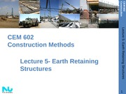 Lecture 5- Earthwork Construction II