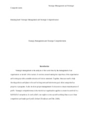 Merger, Acquisition, and International Strategies essay for me
