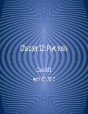 Lecture 21 - Psychosis III.pptx