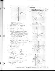 Chapter 9 Workbook Answers