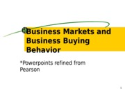 06-Business Markets and Business Buying Behavior