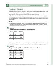 Investment Demand worksheets KEY