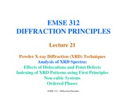 Lecture21-XRD-AnalysisOfXRDSpectraI