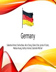 Germany PPT.pptx