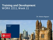 Lecture 11 Training and development_BB