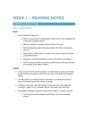 2015 01 07 Week 1 – Reading Notes