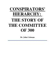 Coleman - CONSPIRATORS HIERARCHY - THE STORY OF THE COMMITTEE OF 300.pdf