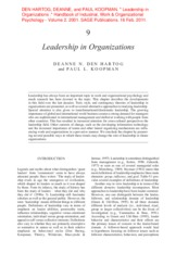 Leadership+in+Organizations Lecture