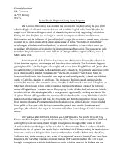 By the People Chapter 4 Long essay