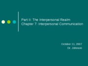 13_Chapter7_InterpersonalComm