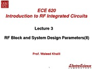 Lect3_RF Block and System Design Parameters(II)