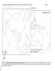 Map Quiz #9_ Sub-Saharan Africa.docx - AP Human Geography Sub ...