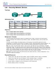 11.2.4.6 Lab assignment correct - Securing Network Devices.pdf