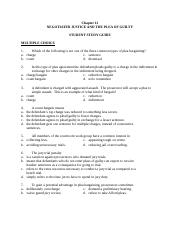 CH 12 Student Study Guide
