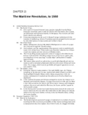 15 - The Maritime Revolution, to 1500