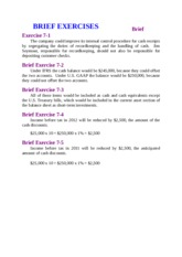 CHAPTER 7 CASH AND RECEIVABLE QUIZ 3