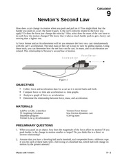 09 Newton's Second Law