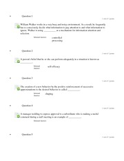 quiz 1 course organizational behavior Macro organizational behavior: organizational theory and mathematical skills at the level of one course each of calculus and 1, 2018, vol 61.