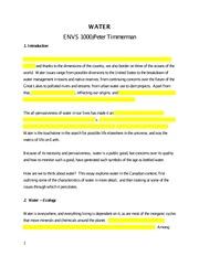ecofeminism essay topics