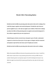 ABS-497-Week-2-DQ-1-Parenting-Styles