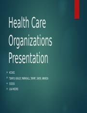 Health Care Org PP TeamB.pptx