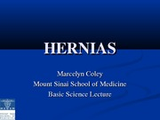 Hernias - MColey